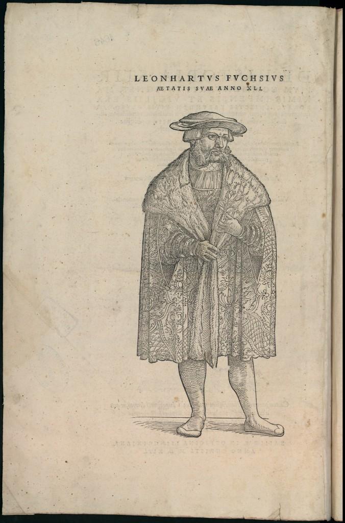 Portrait de Leonhart Fuchs