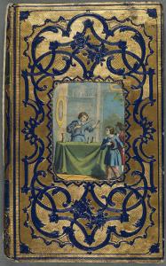(fig. 7) Décor d'entrelacs : Michel-Ange, Marin. Adélaïde de Witsbury, ou la pieuse pensionnaire. Rouen : Mégard, [1850 ?].  Cote 2RB 1617