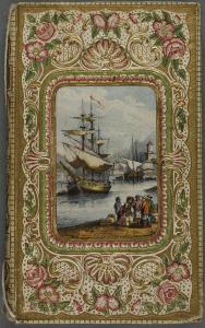 Décor rocaille : Garnier, Henri. Voyages en Perse, Arménie, Mésopotamie, Chaldée, Kurdistan, Arabie etc. Tours : Mame, 1854. Cote 2RB 1673