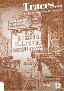 Affiche exposition Ex-libris