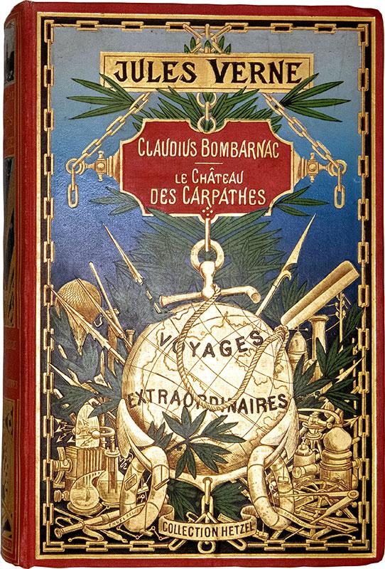 Page de couv. Le Château des Carpathes