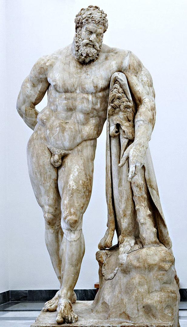 Hercule, palais Farnèse à Rome