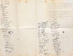 feuille signature