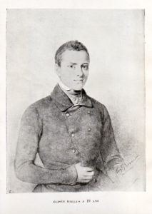 Portrait d'Élisée Reclus à l'âge de 19 ans