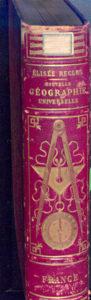 Dos, cartonnage d'éditeur chromolithographié et doré