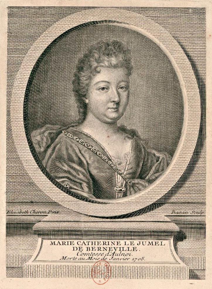 Portrait dessiné par Élisabeth Chevron et gravé par Pierre-François Basan (1723-1797), à noter la graphie « Berneville » pour « Barneville »