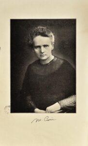 Marie Curie. Traité de radioactivité, 1935
